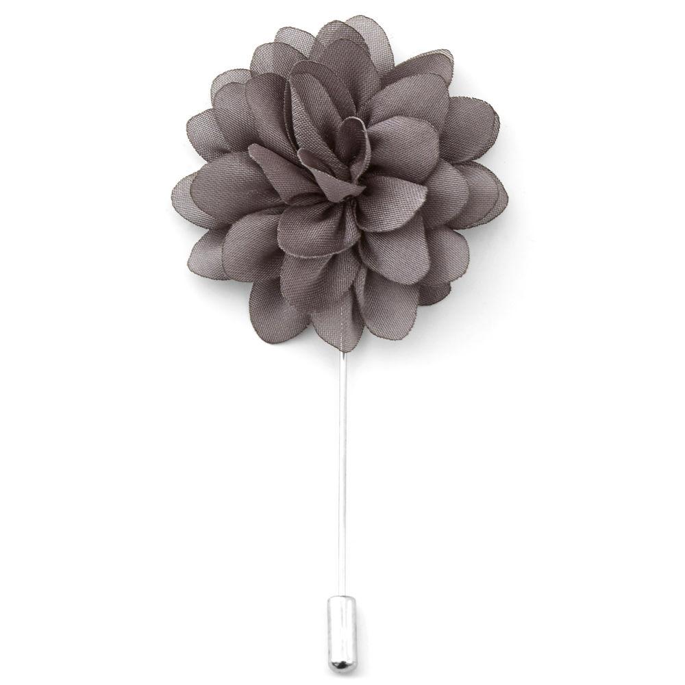 Καρφίτσα Πέτου Peony Charcoal Flower  8612cb51581