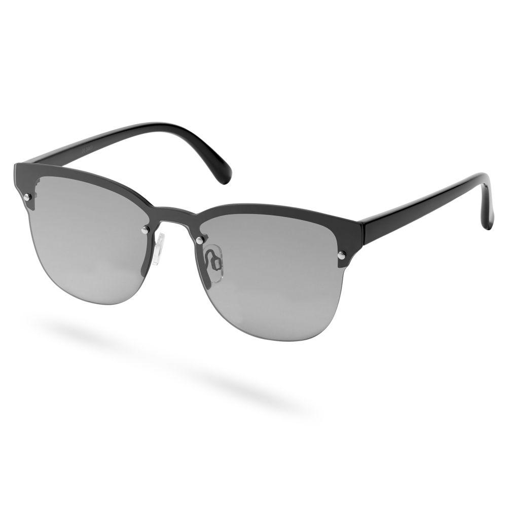 Óculos de Sol Browline Preto no preto   Em stock!   Paul Riley f289e156f3