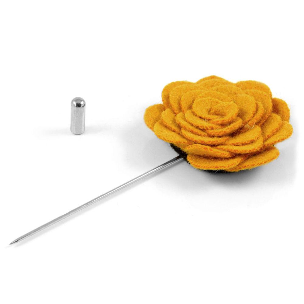 Καρφίτσα Πέτου Orange Rose  88ce32bd6be