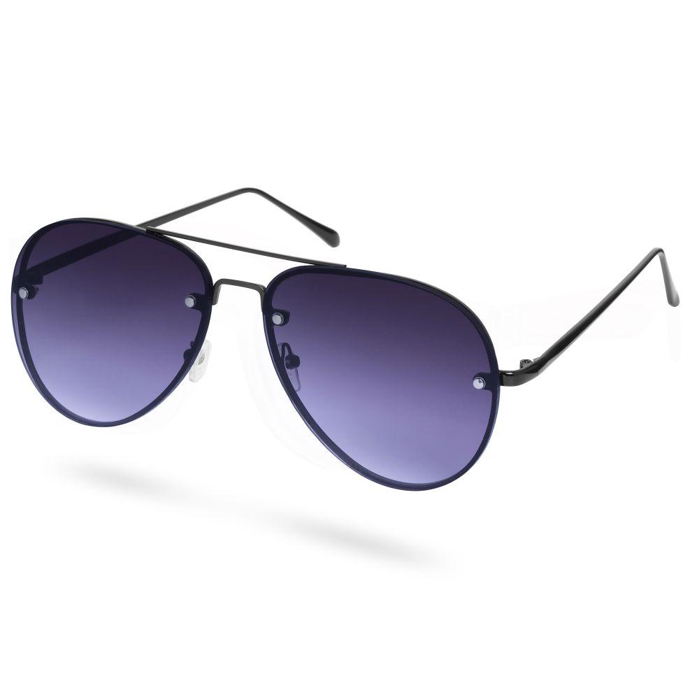 Óculos de Sol Aviador Pretos Mate   Em stock!   Paul Riley 585262ee58