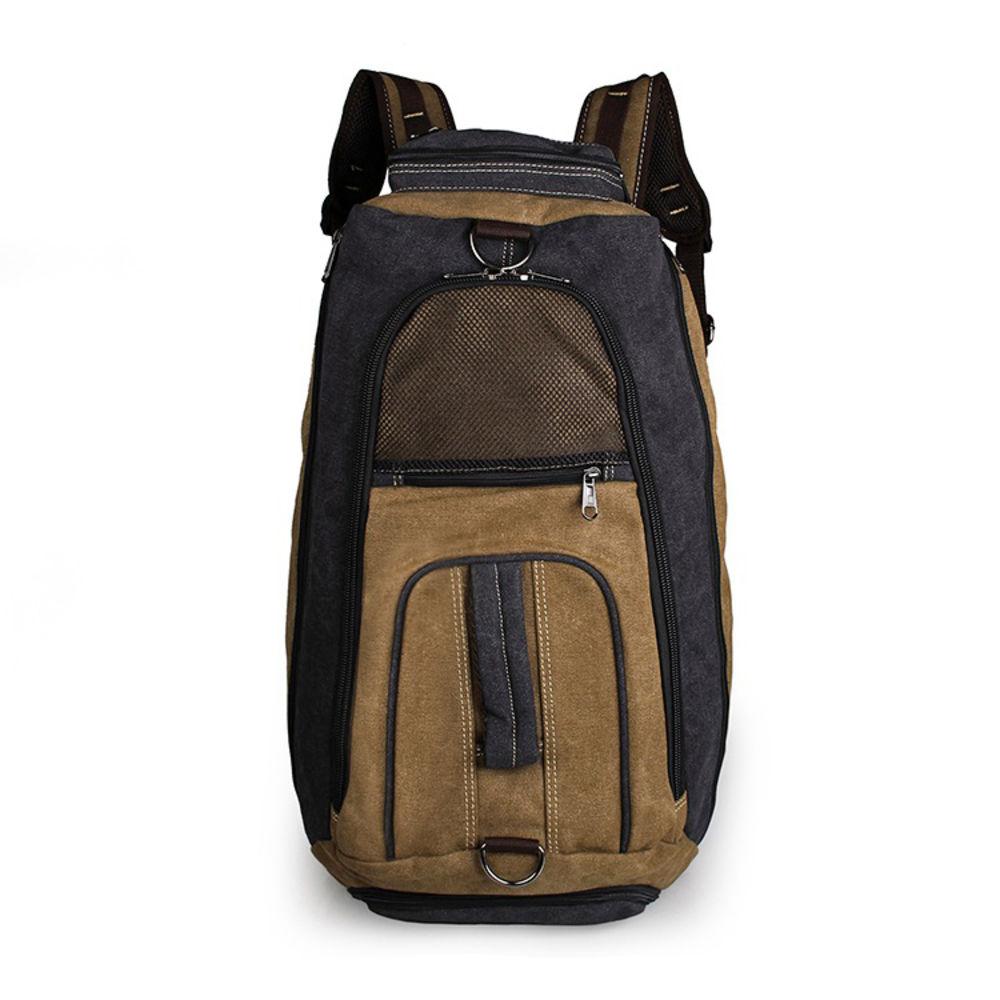 Χακί Τσάντα Multi-use Holdall από Καμβά  3d555fe6eaa