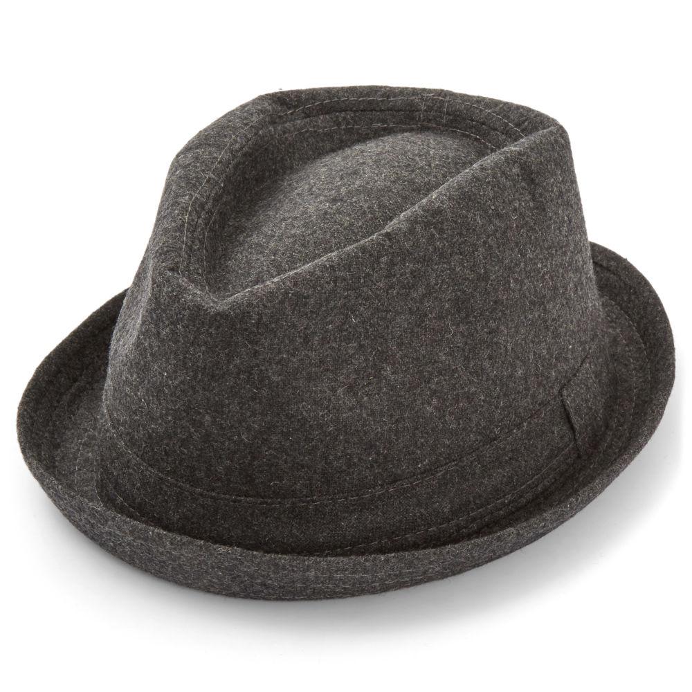 Grey Trilby Hat  3e523fe9aef