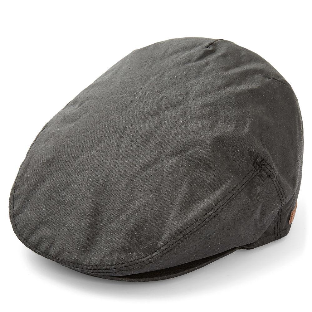 1d7705ce497ed Gorra plana de lona negra