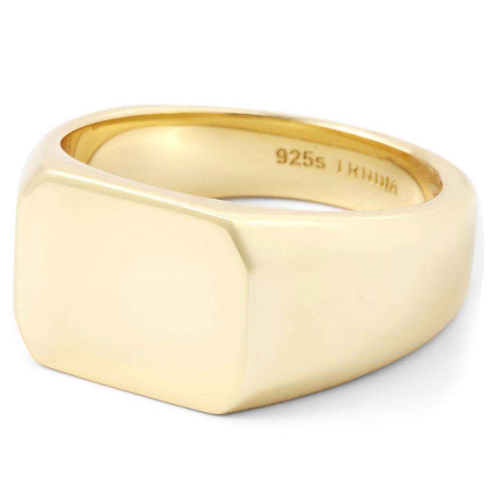 Δαχτυλίδι από Ασήμι 925s Josiah Gold  9cb3f2098b3