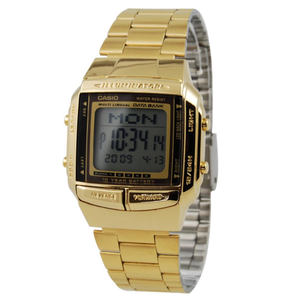 ddaf2f63aadc Casio - Reloj retro dorado