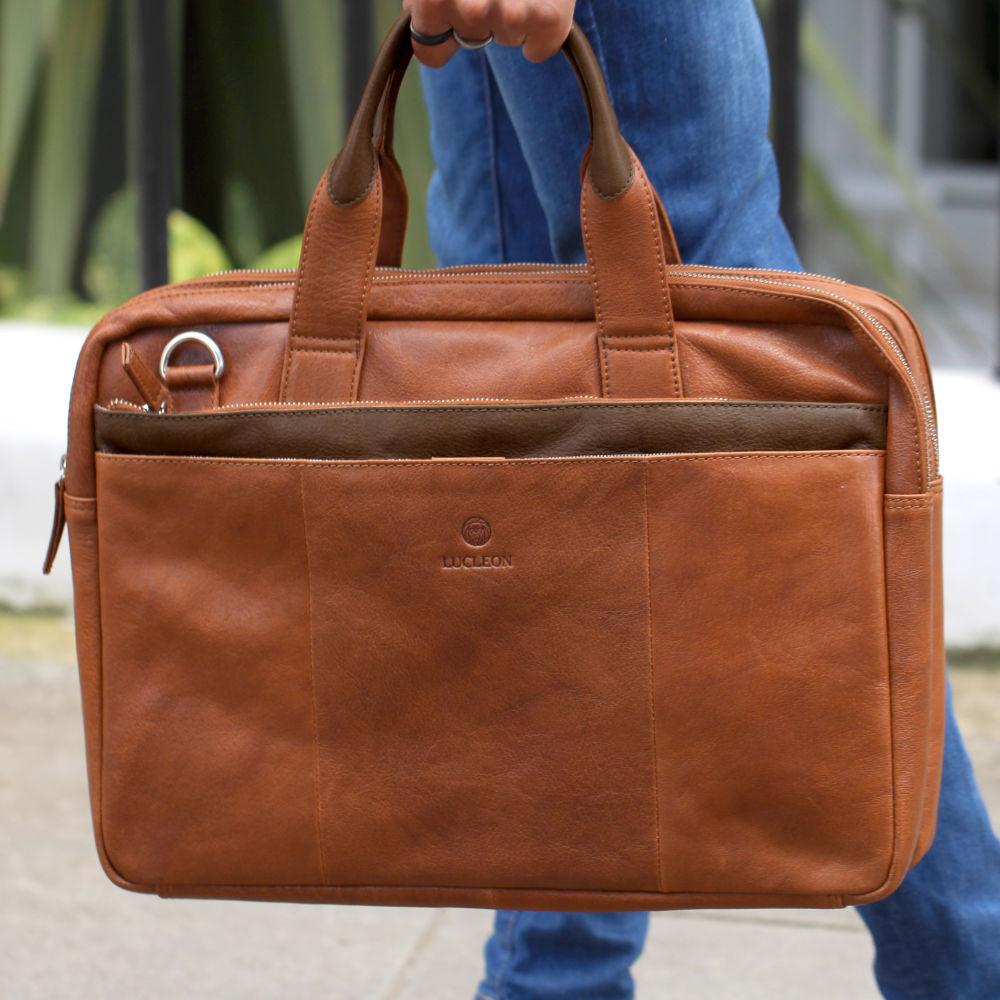 Keltaruskea California-laukku kannettavalle tietokoneelle ... 56768a7e5f