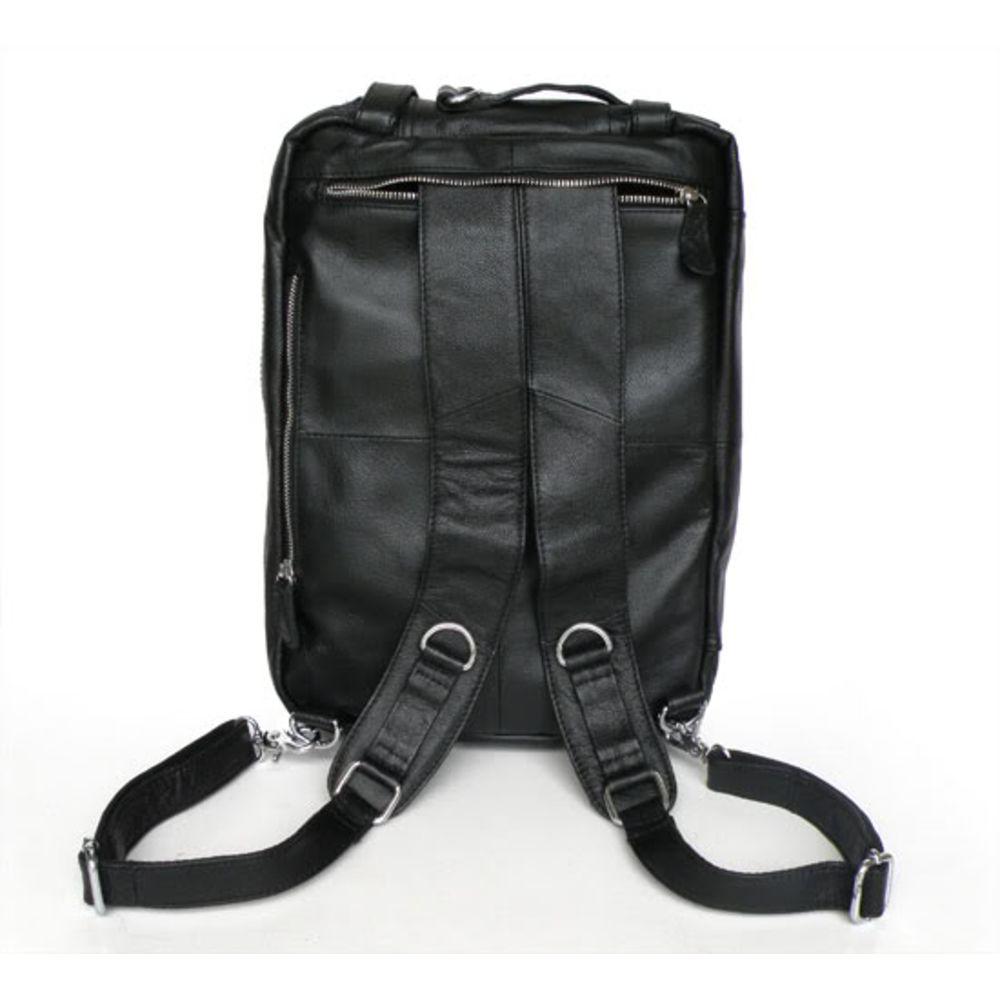 Μαύρη Δερμάτινη Τσάντα Aztec Multi-Usage  1e4f60d07d8