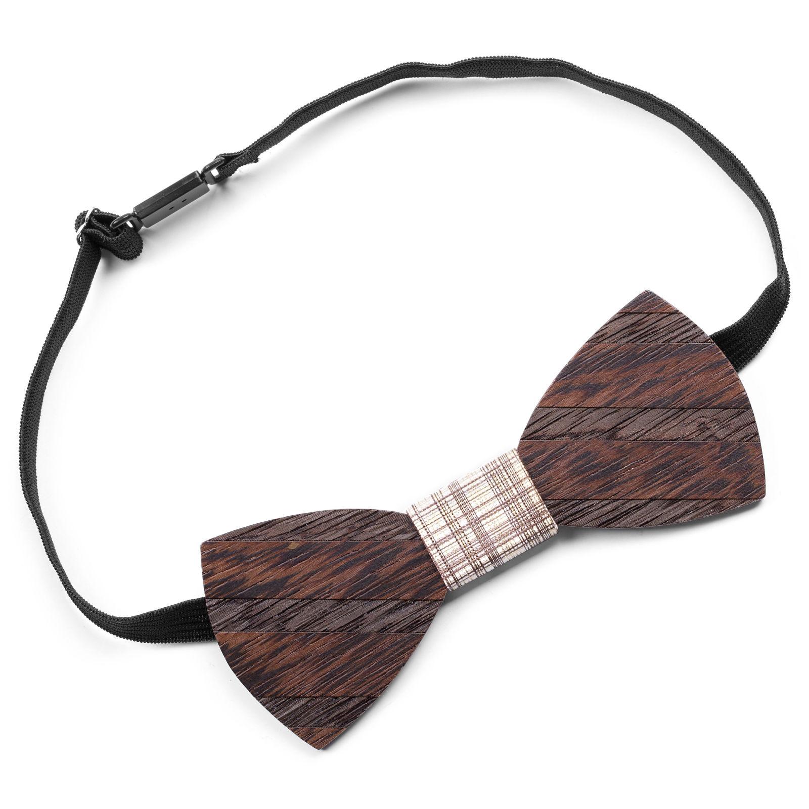 Classic Wenge Bow Tie Trendhim
