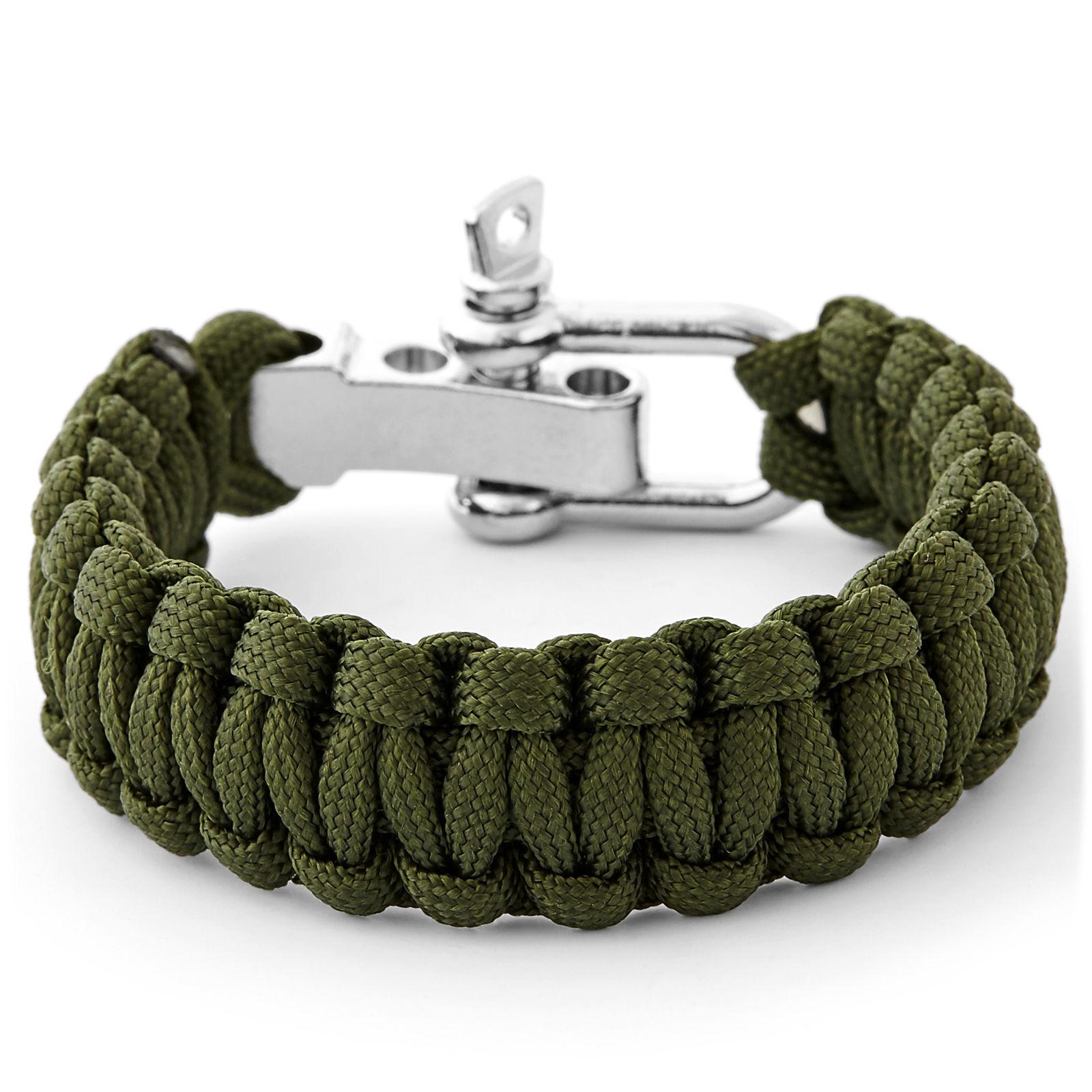 Green and Tan Paracord Bracelet Trendhim