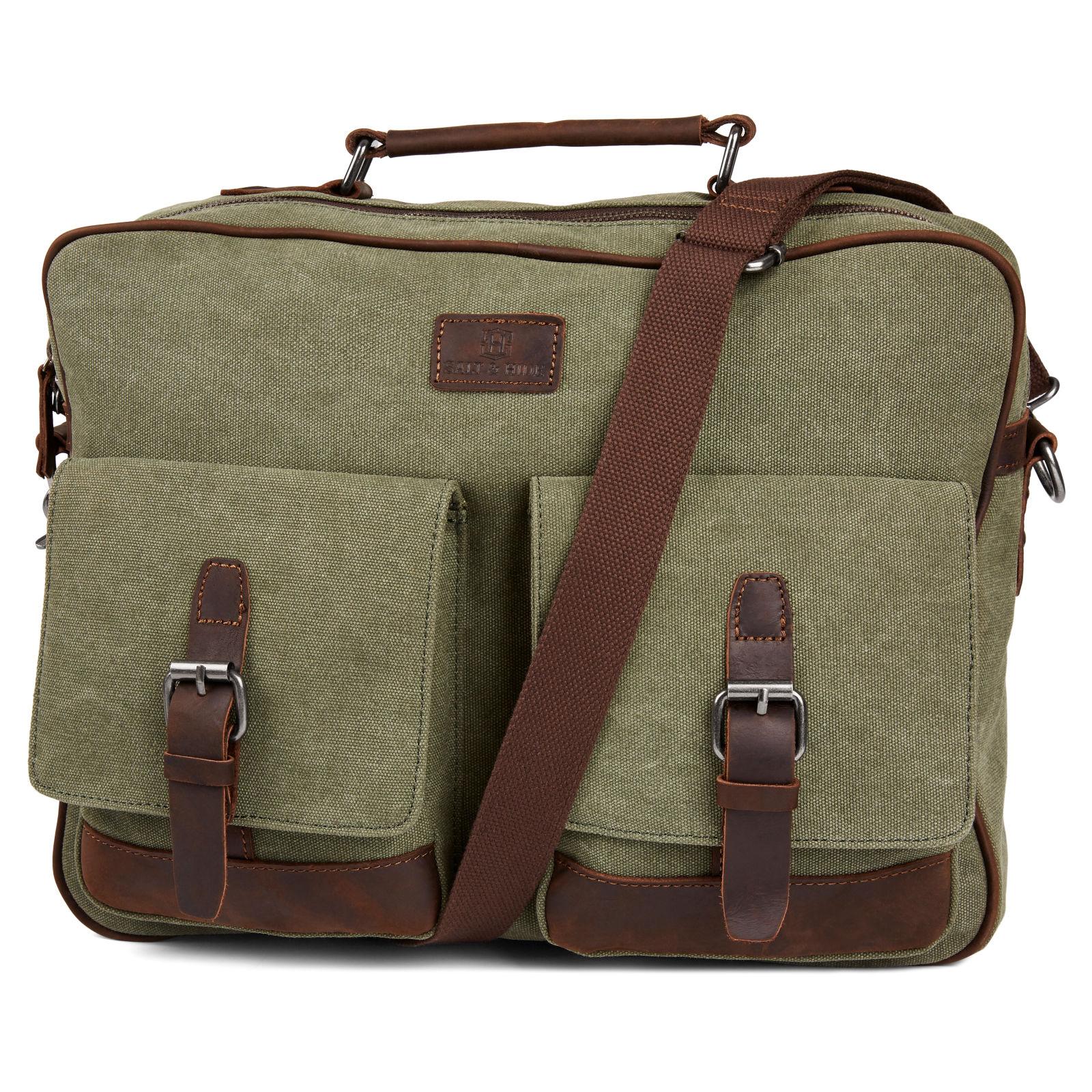 084ceb887d4 Τσάντα Ταχυδρόμου (Messenger Bag) Simon Green & Brown   Γρήγορη αποστολή    Salt & Hide
