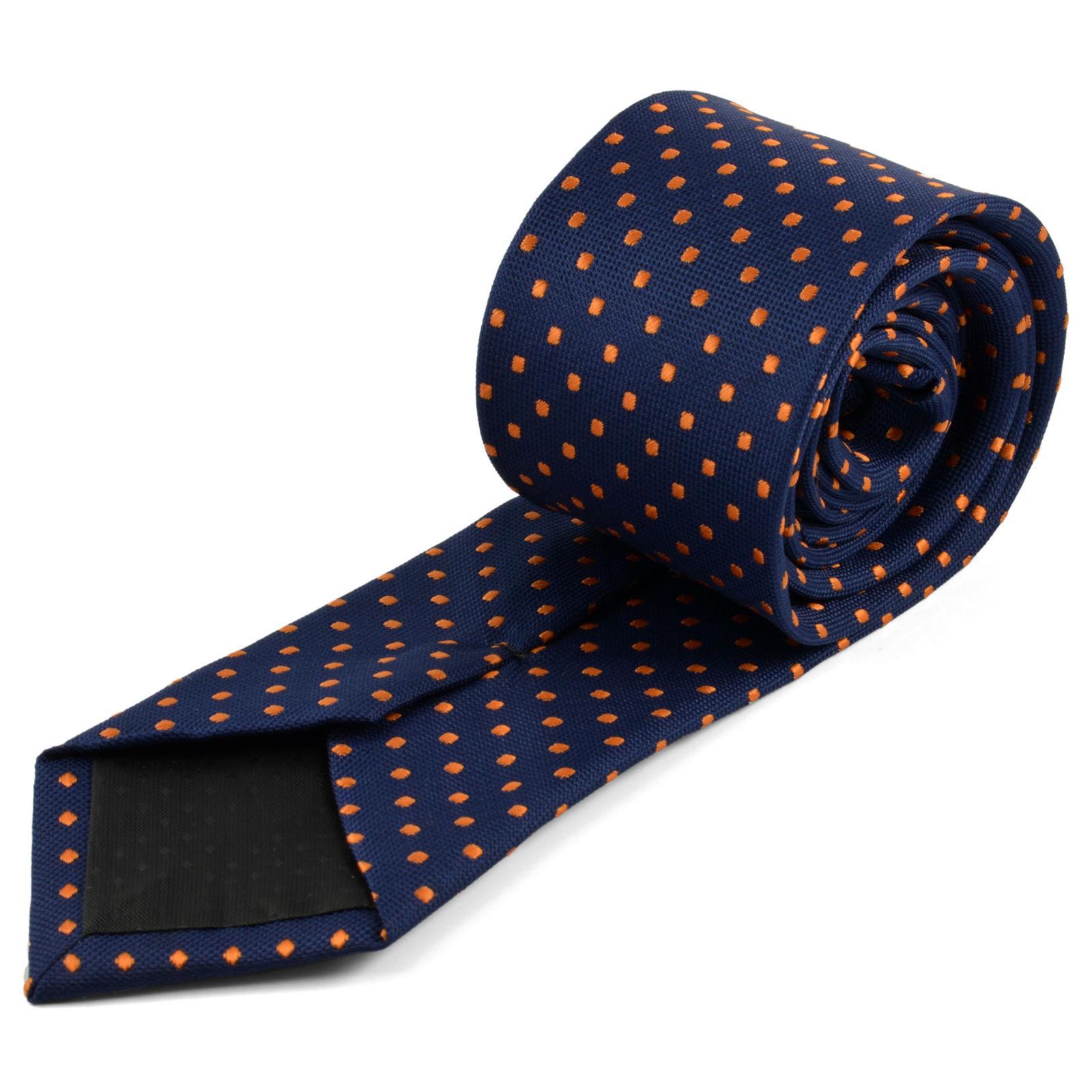 Black & Orange Floral Tie Trendhim