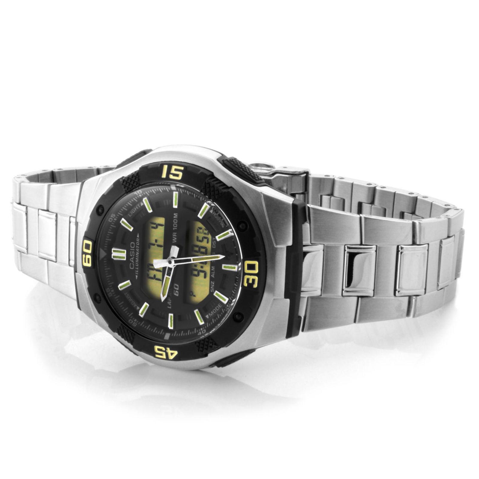 f34823cf14aa Reloj Casio dual sólido en plata