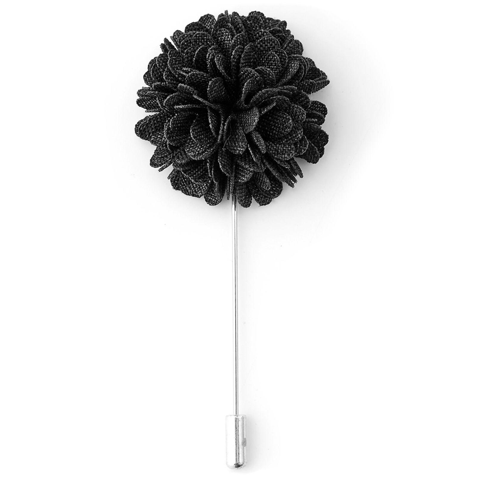 Fleur De Couleur Charbon Épinglette Trendhim