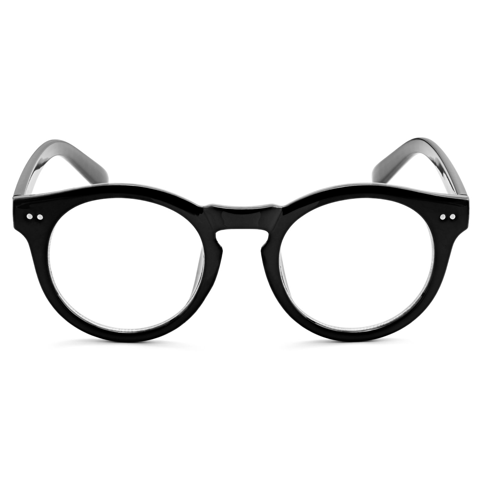 990284361d Μαύρα Γυαλιά με Διάφανους Φακούς The Protege