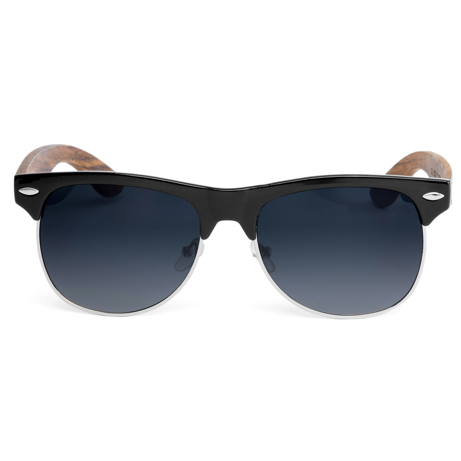 Polarized Γυαλιά Ηλίου Browline Ebony Smoke  d5a80f281b5