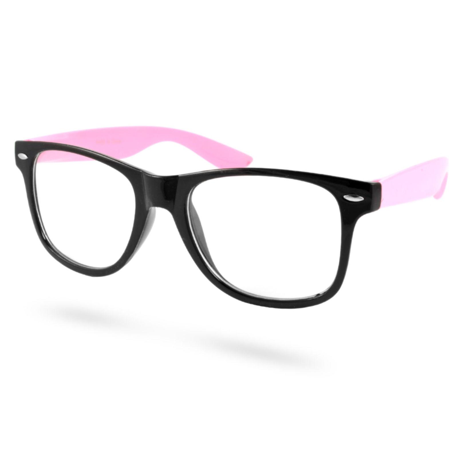 5216031cae05 Sorte Pink Briller Uden Styrke