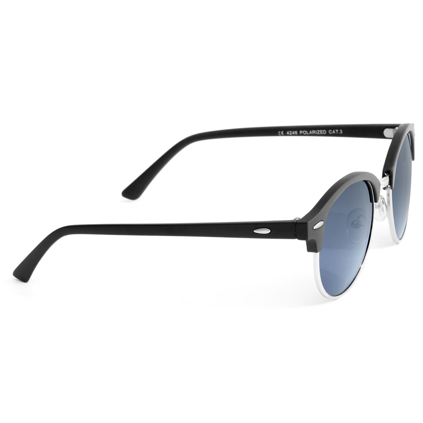 Polarized Γυαλιά Ηλίου Black Browline Smoke  5a8f5bcb5c2
