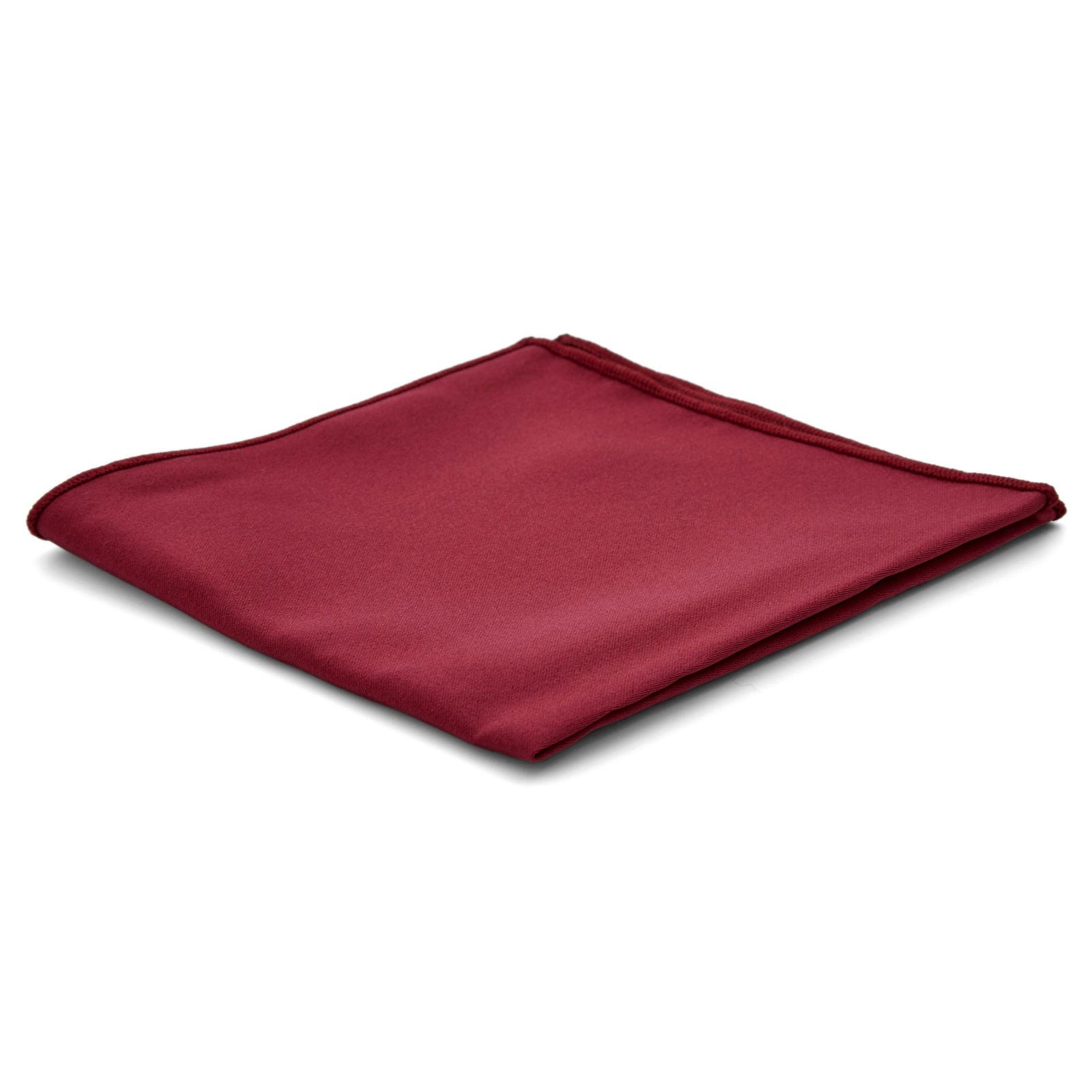 Red Framed Floral Pocket Square Trendhim