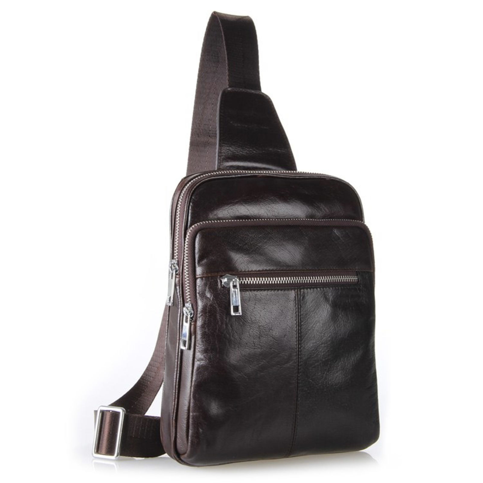 Sac d 39 paule marron fonc manitoch port gratuit delton bags - Trend corner frais de port gratuit ...