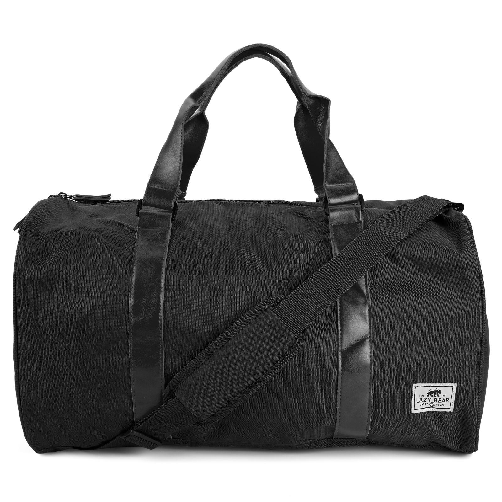 Sac Duffel Bag noir & brun California