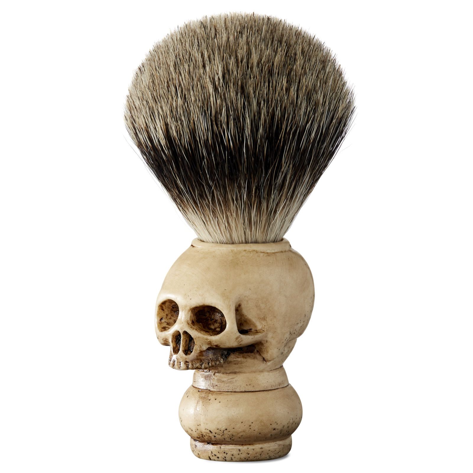 pure badger skull shaving brush free shipping over 75 collin rowe