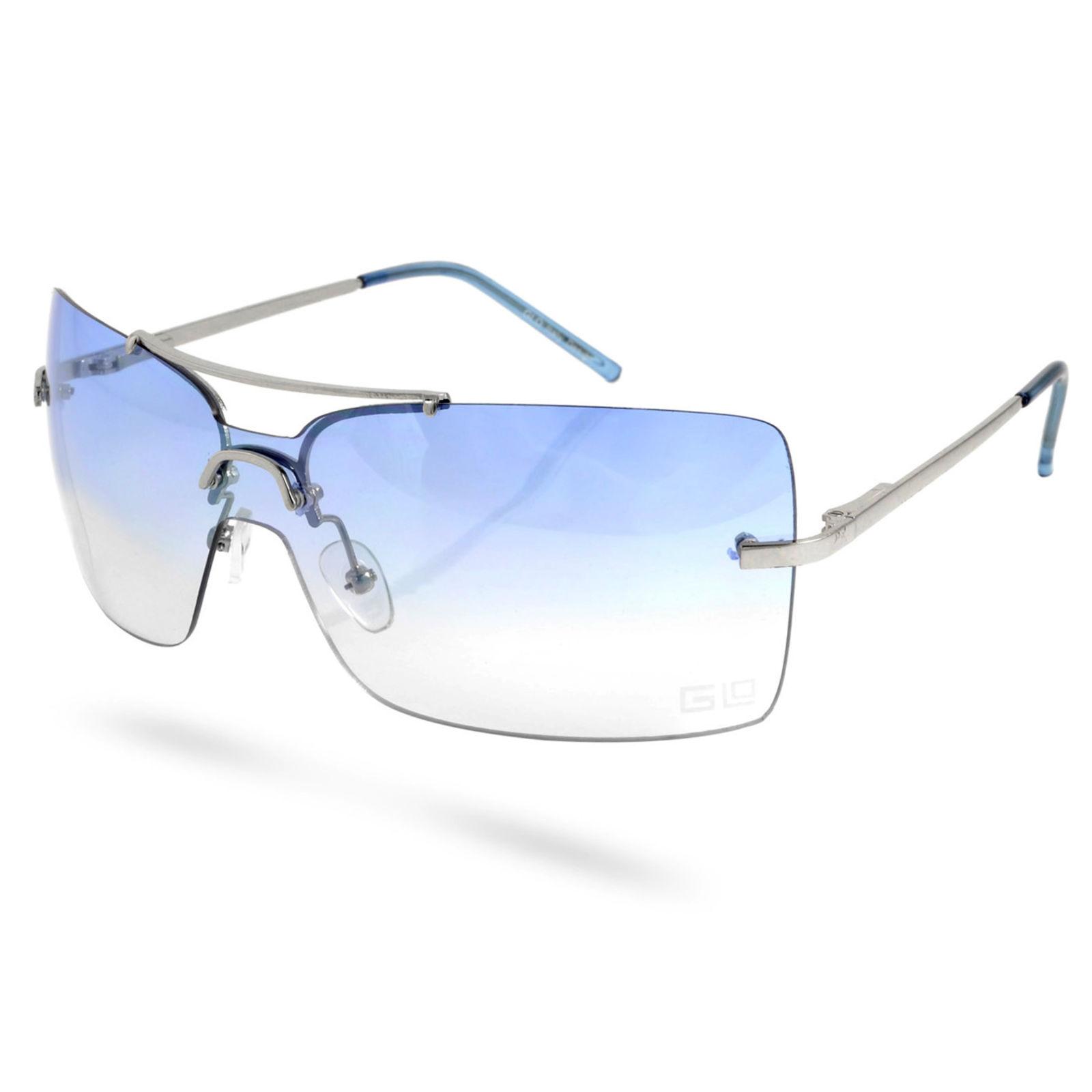 60ce76509e34e7 Blauwe Italio Frameloze Glazen Zonnebril