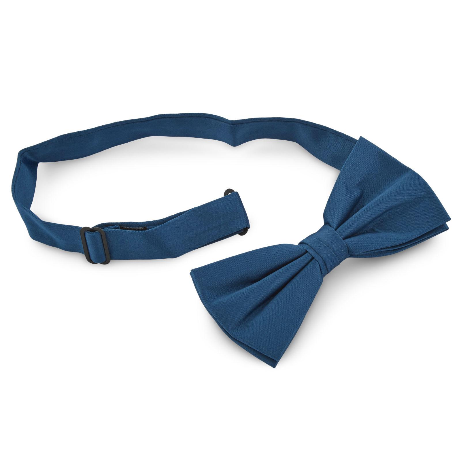 Petrol Blue Basic Bow Tie Trendhim