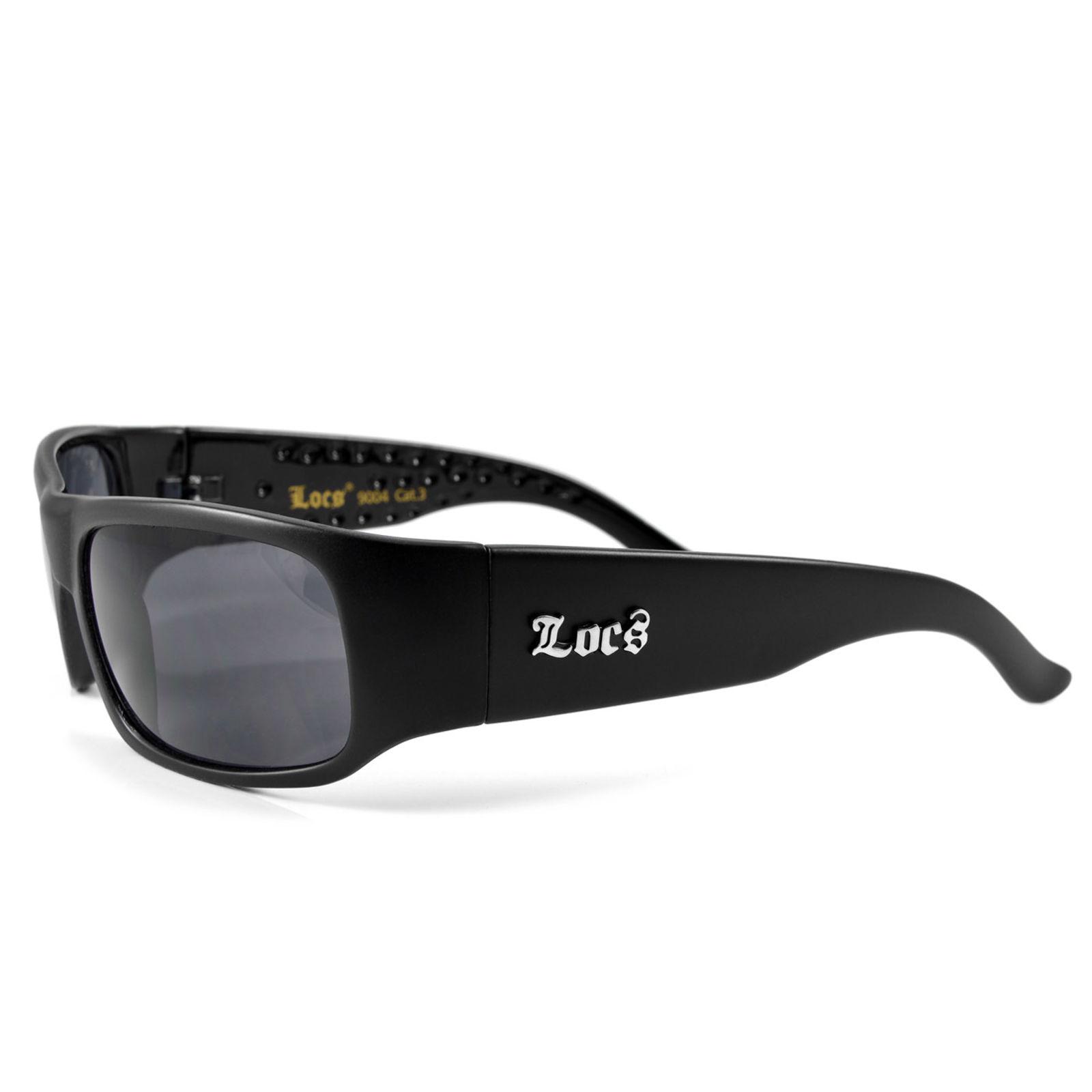 Óculos de Sol Pretos Mate 9004 Locs   Locs   Em stock! e2b7d67203
