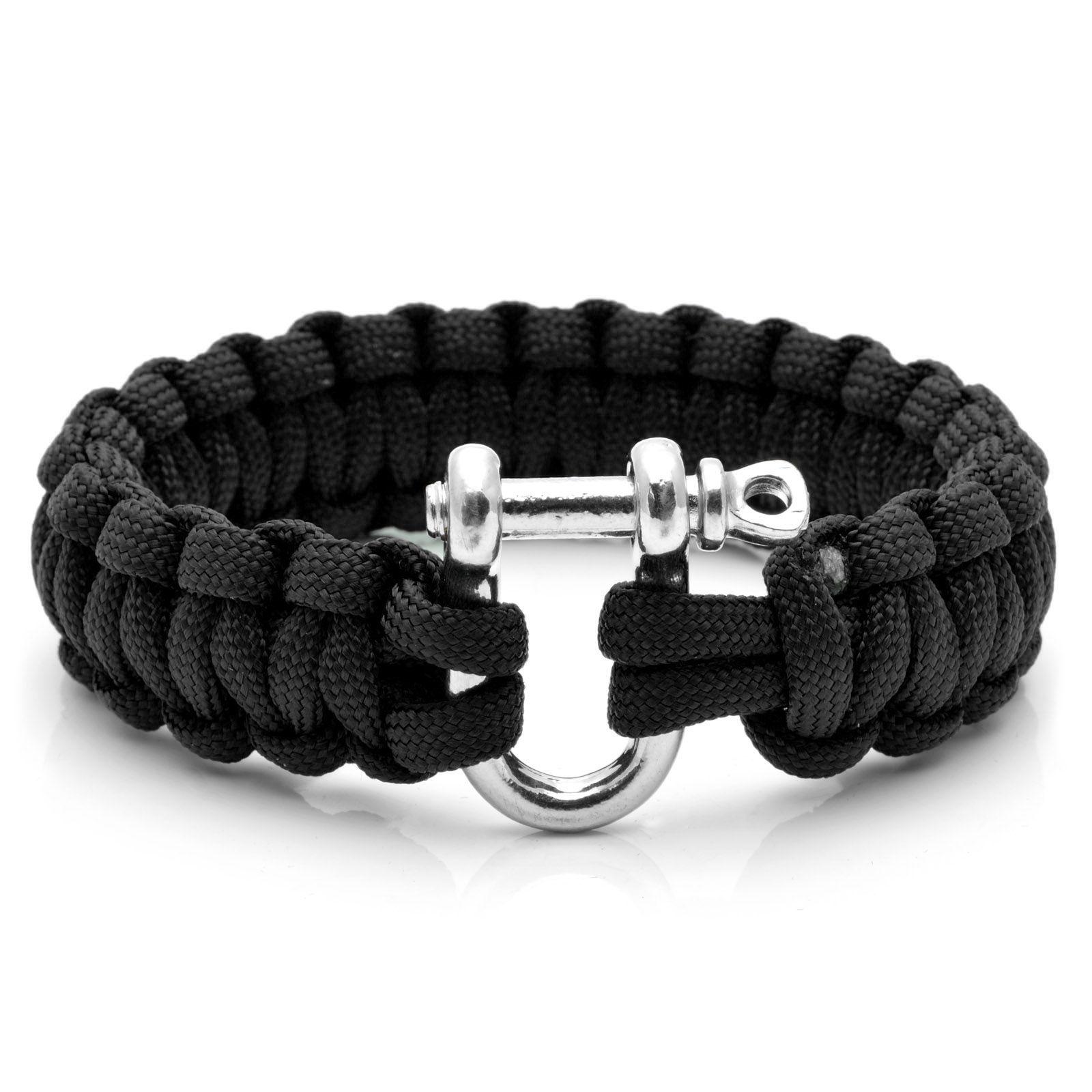 Black Paracord Compass Bracelet Trendhim