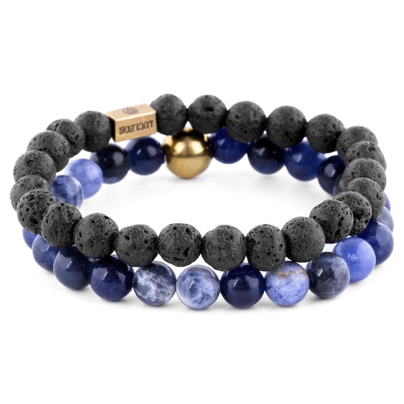 Blå Agat   Lavasten Miro Armband  6a4adabb2e064