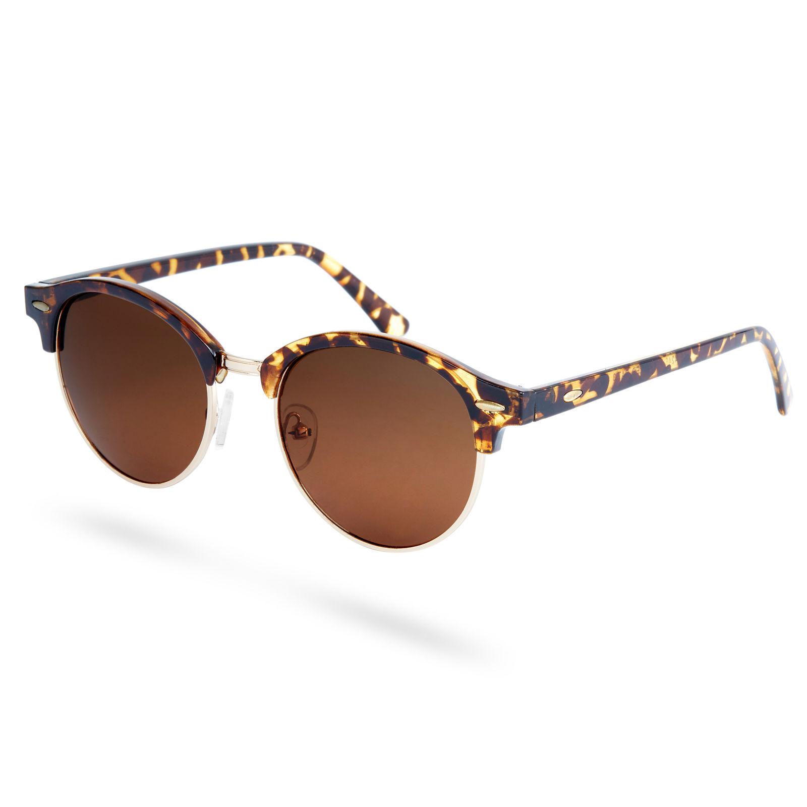 Braune Polarisierte Sonnenbrille In Schildplatt Optik | Kostenloser ...