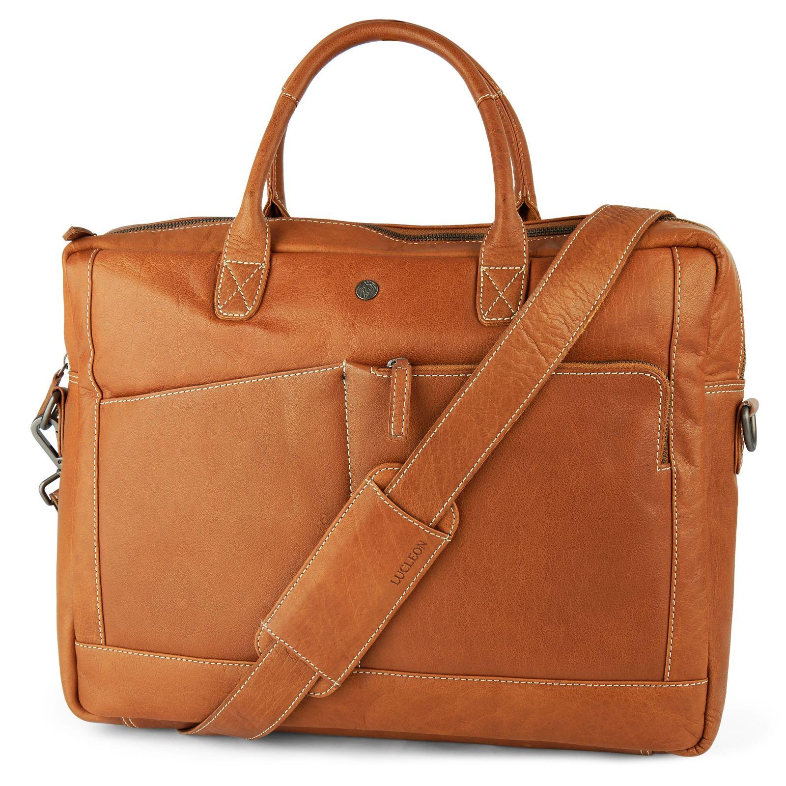 ce5d5e7b0c16 Oxford Classic nyeregbarna bőr laptoptáska | Ingyenes kiszállítás | Lucleon