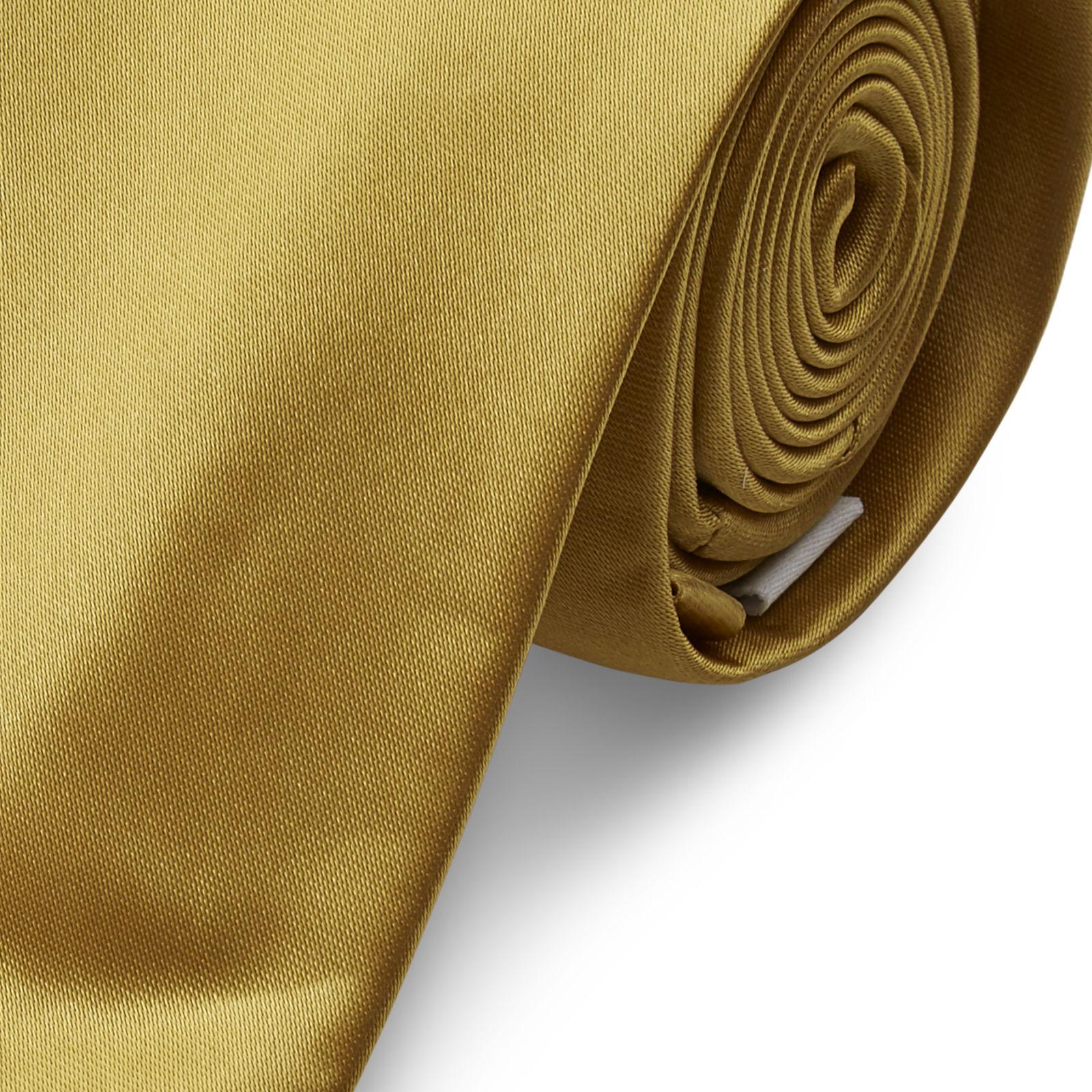 63db075bc1 Fényes aranyszínű nyakkendő - 6 cm | Készleten! | TND Basics