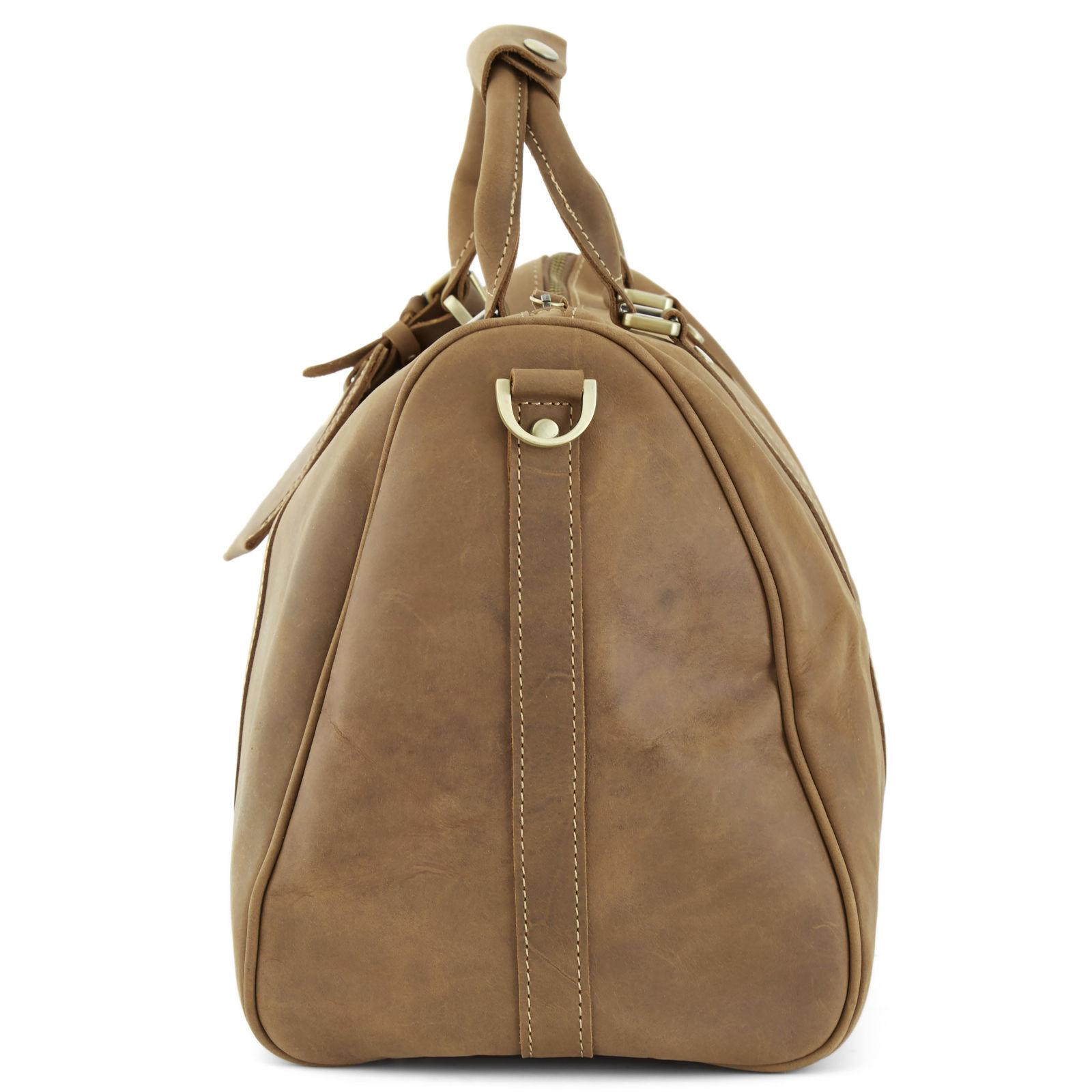 Καφέ Δερμάτινη Τσάντα Ταξιδιού Executive  806c7821d5a
