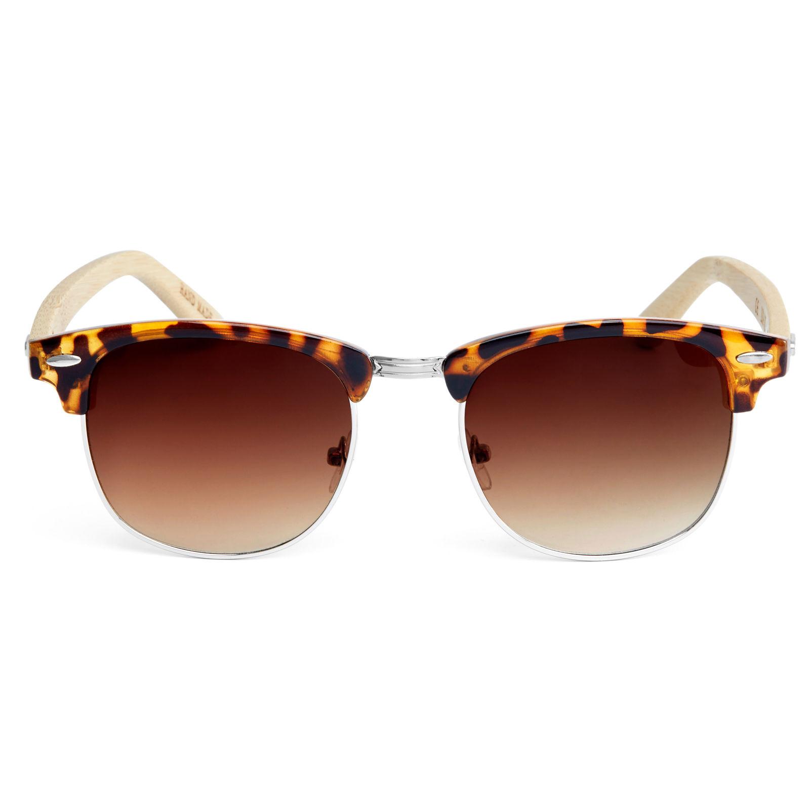 Γυαλιά Ηλίου Brown Tortoise Wood Ντεγκραντέ  2c49e0d3d27