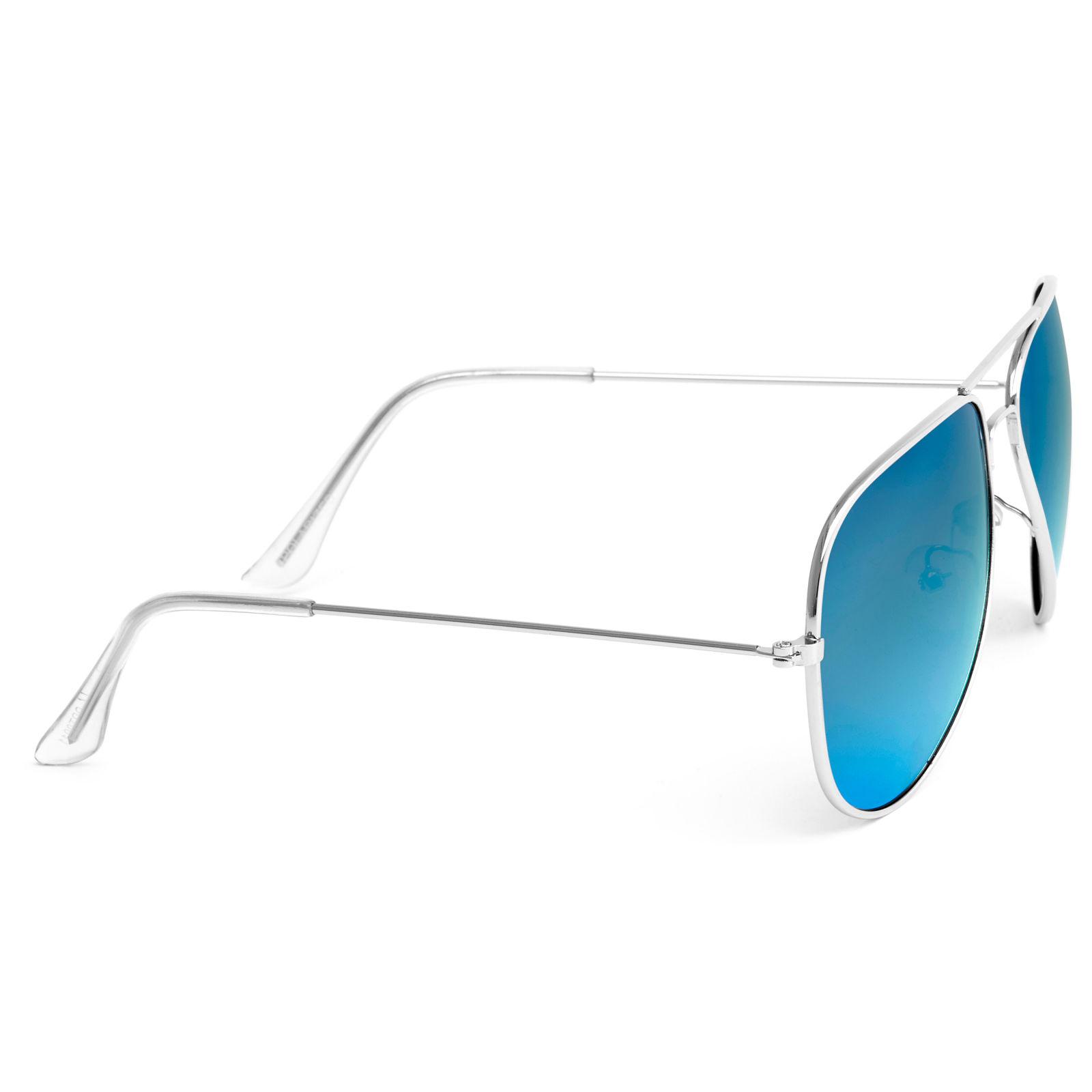 Arany és kék színű polarizált pilóta napszemüveg  6d7441bdff
