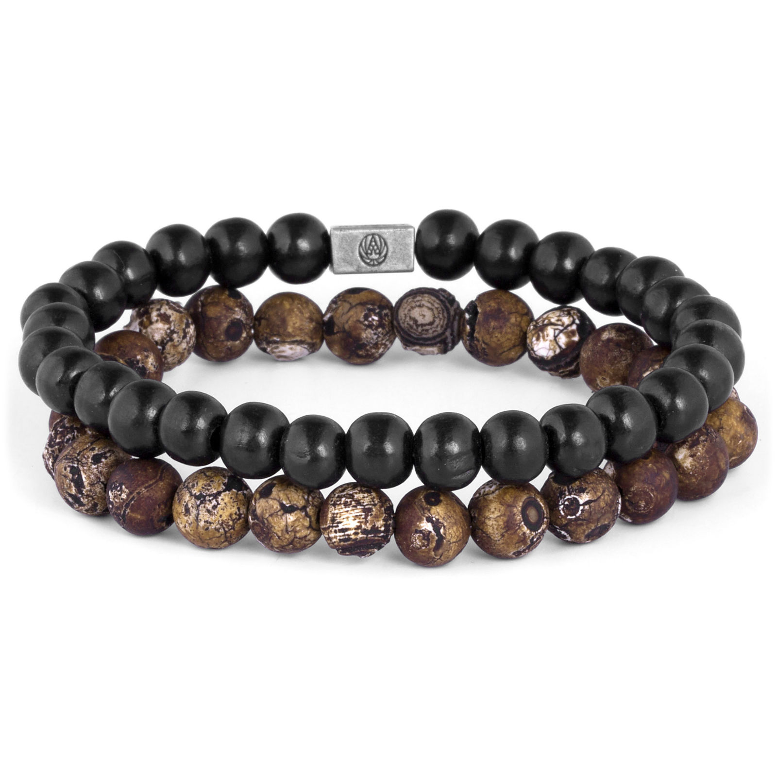Black Wooden Pearl Necklace Trendhim