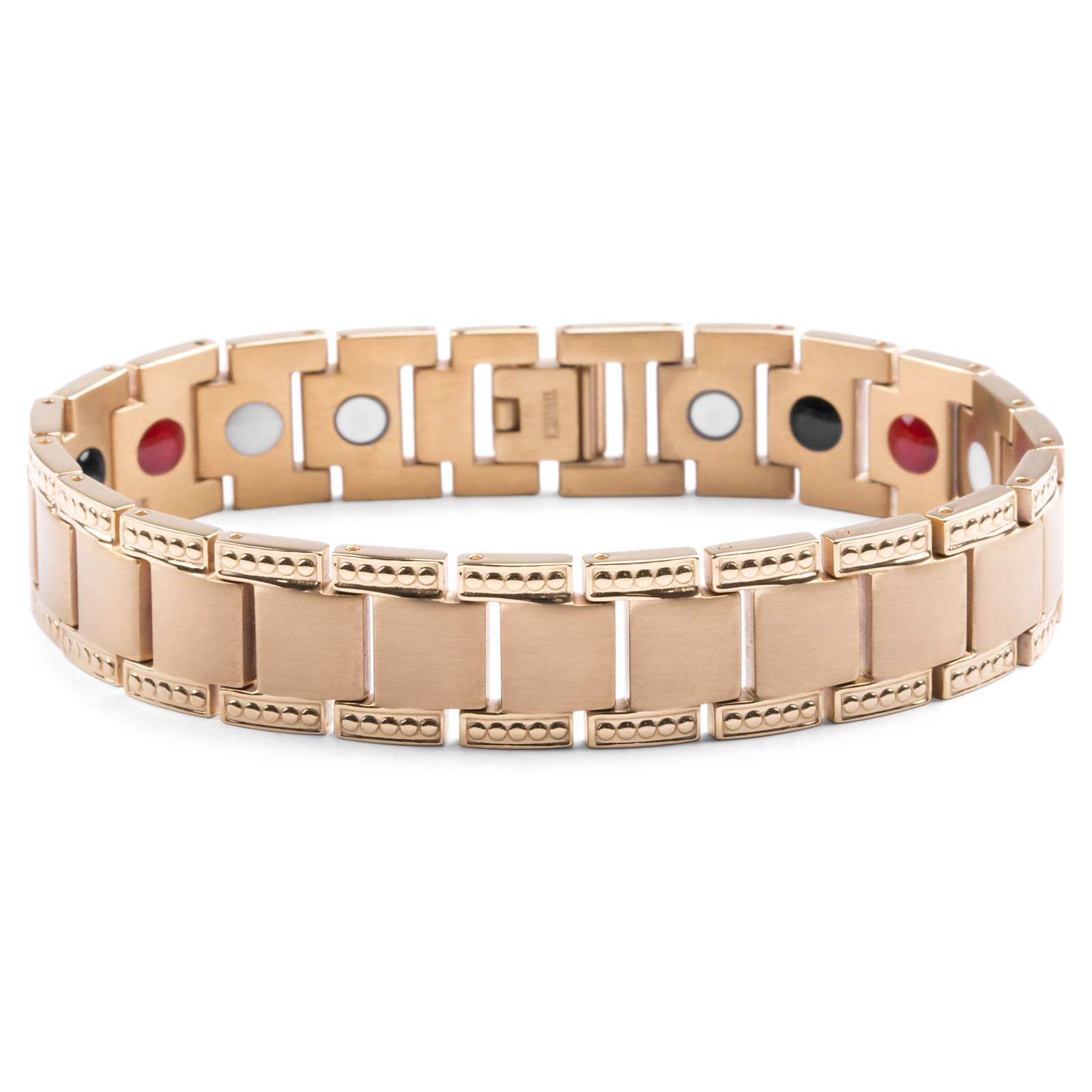 Gold Healing Titanium Steel Bracelet Trendhim
