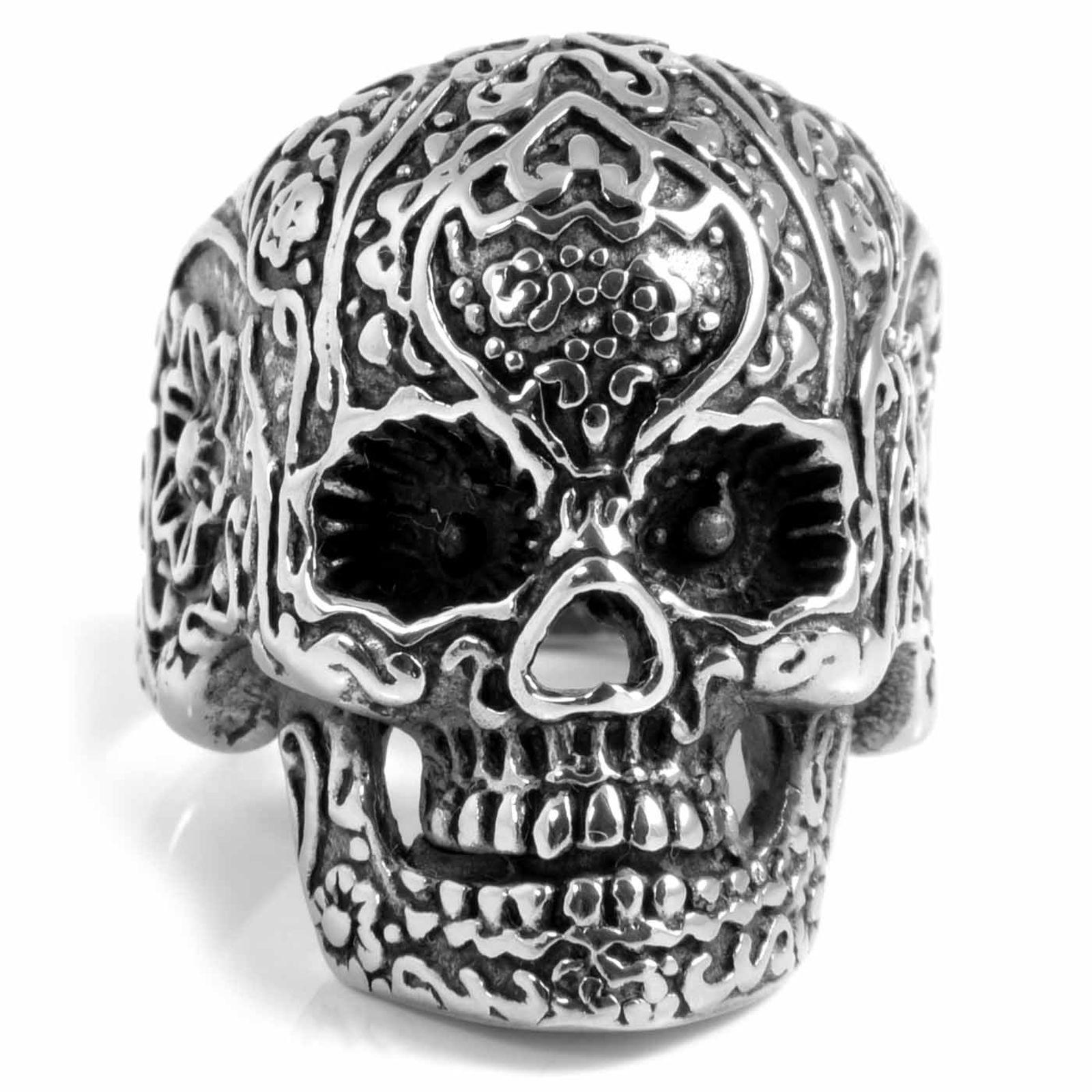Ατσαλένιο Δαχτυλίδι Skeleton Skull  9529923a641