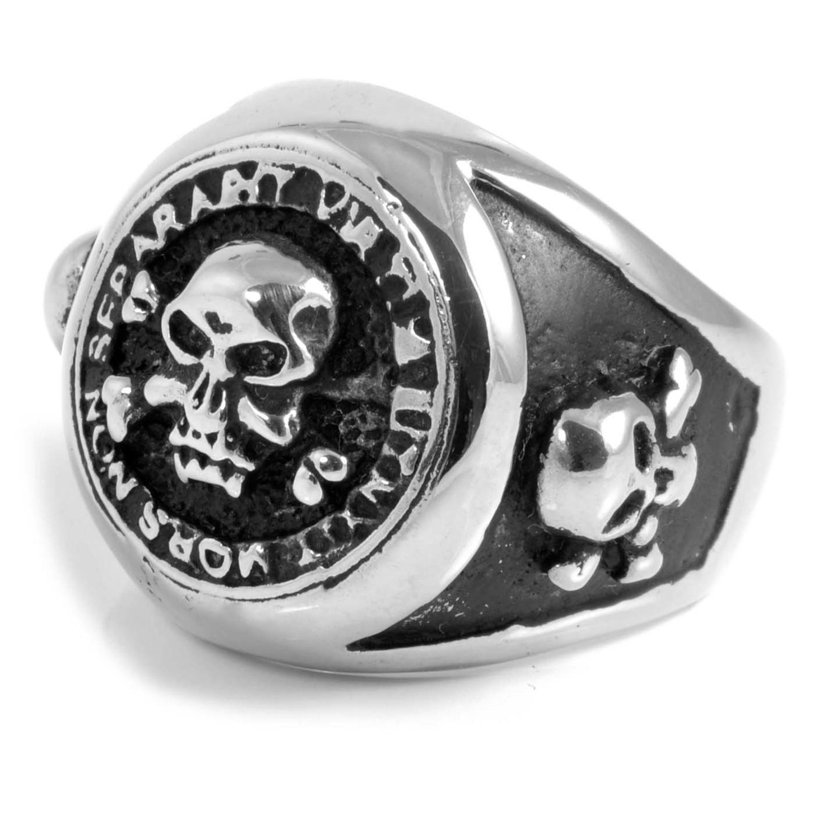 Ατσαλένιο Δαχτυλίδι Pirate s Life  d5b502d1ebd