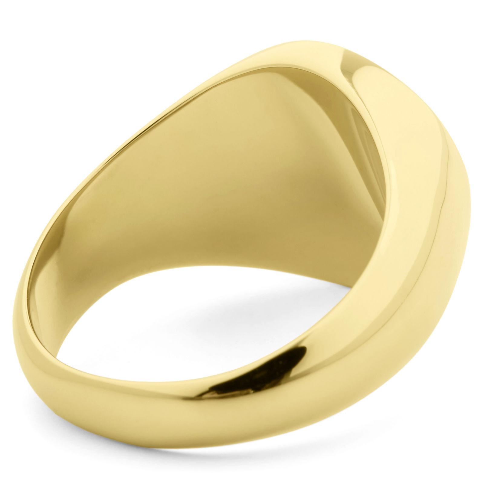 7f02701256 Χρυσό 925 Δαχτυλίδι Σφραγίδα Hunter s Offspring