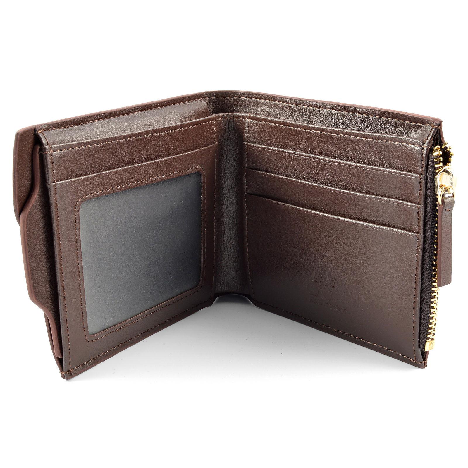 Barna bőr pénztárca  376dbdd539