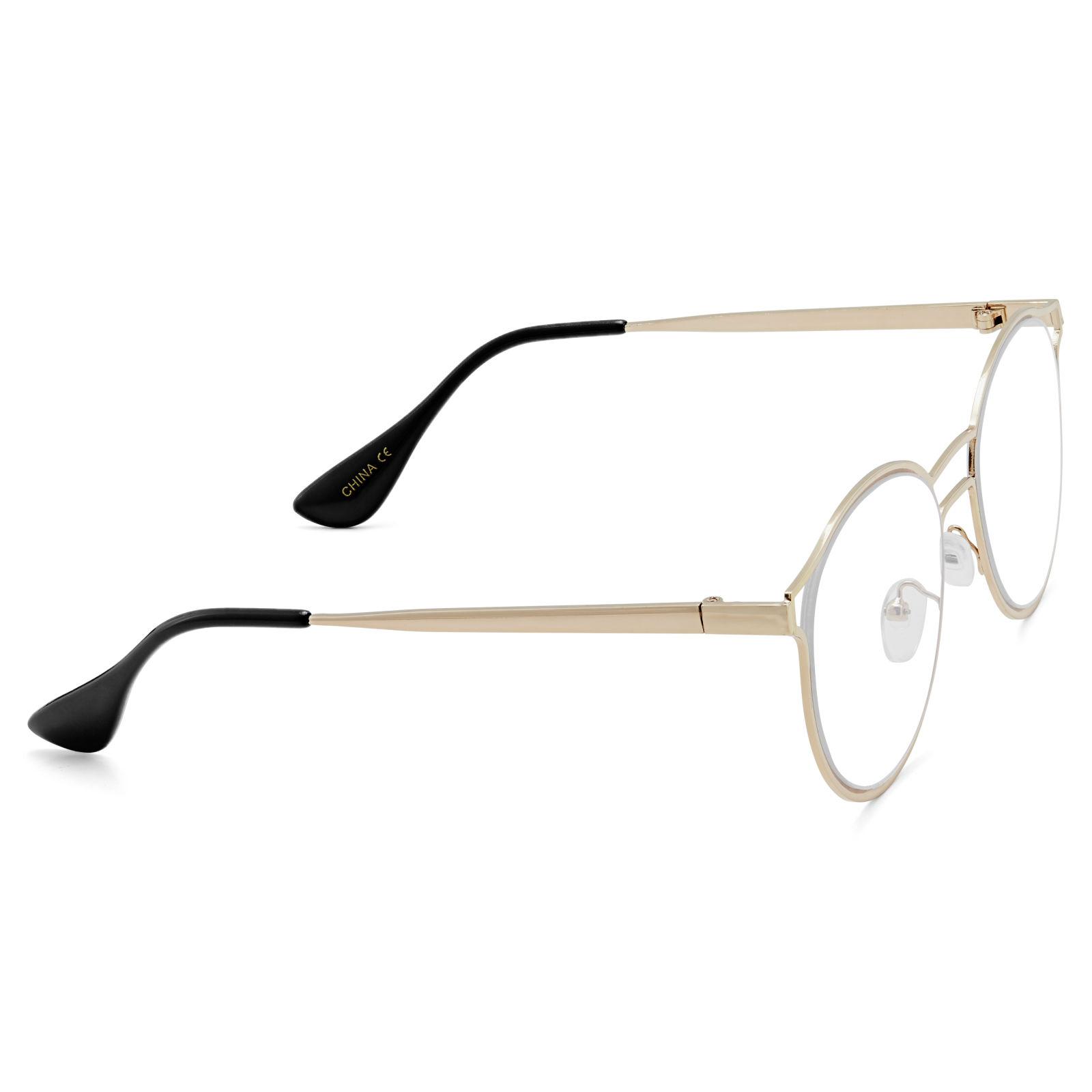 007f5be596b9e Óculos com Armação Dourada O Génio