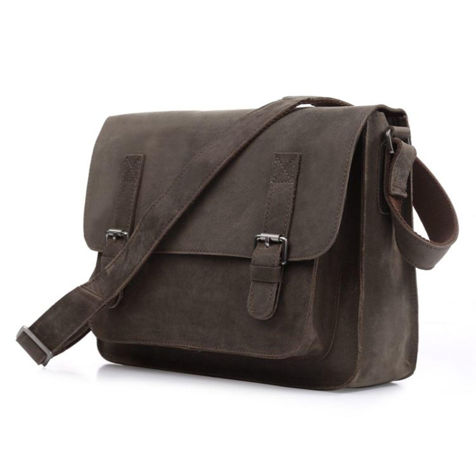 8faaa62cebf Zachte Bruine Lederen Tas | Gratis verzending | Delton Bags