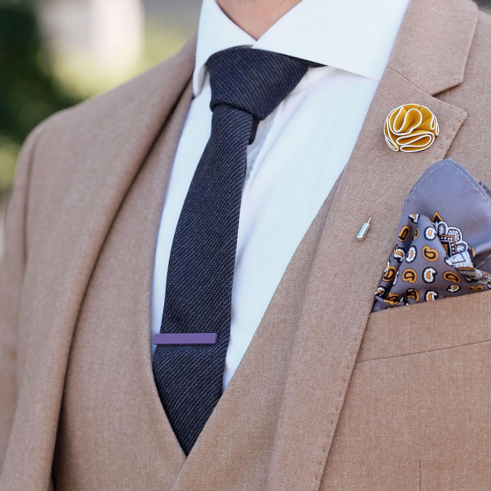 Silver Sailors Short Tie Clip Trendhim