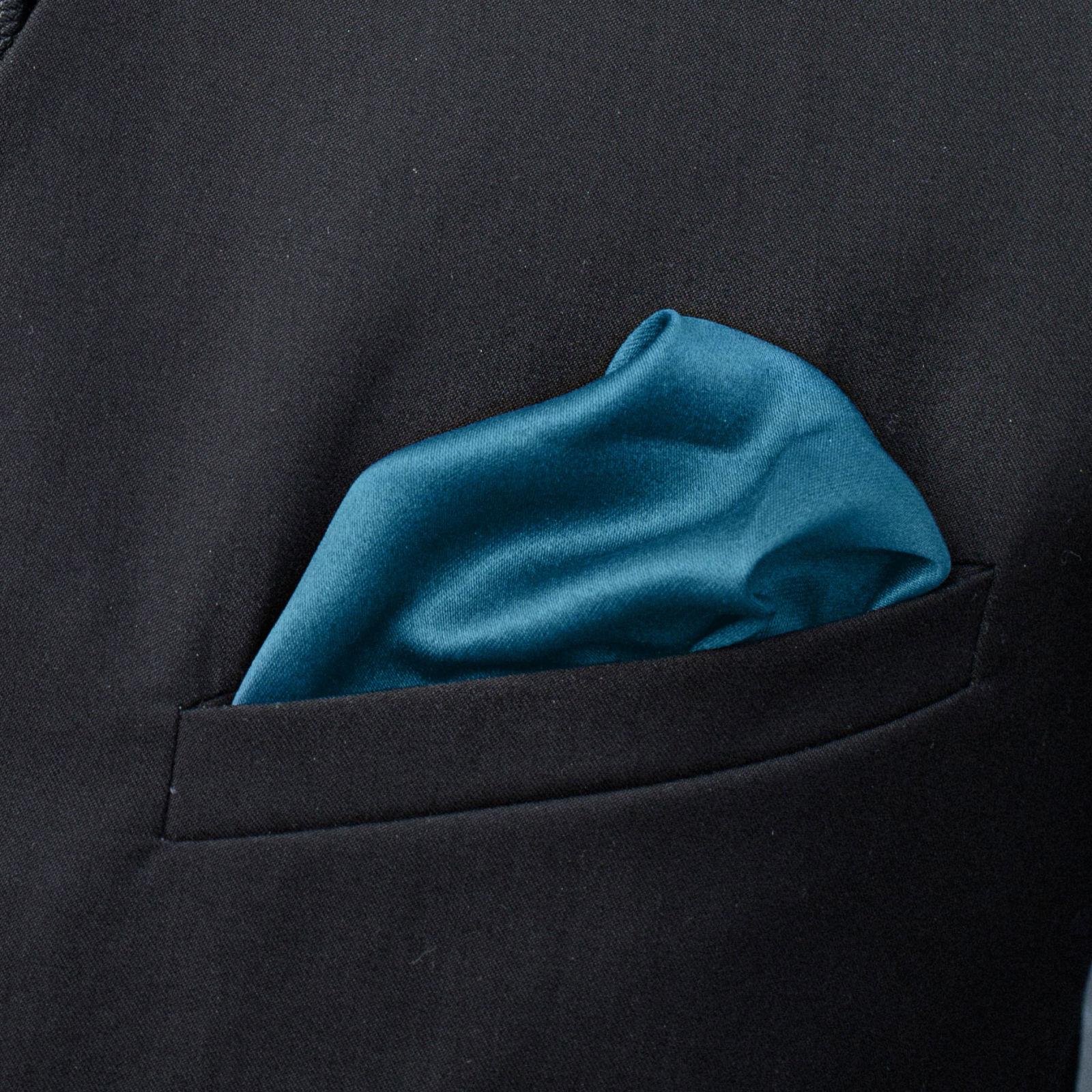 Blue Simple Pocket Square Trendhim
