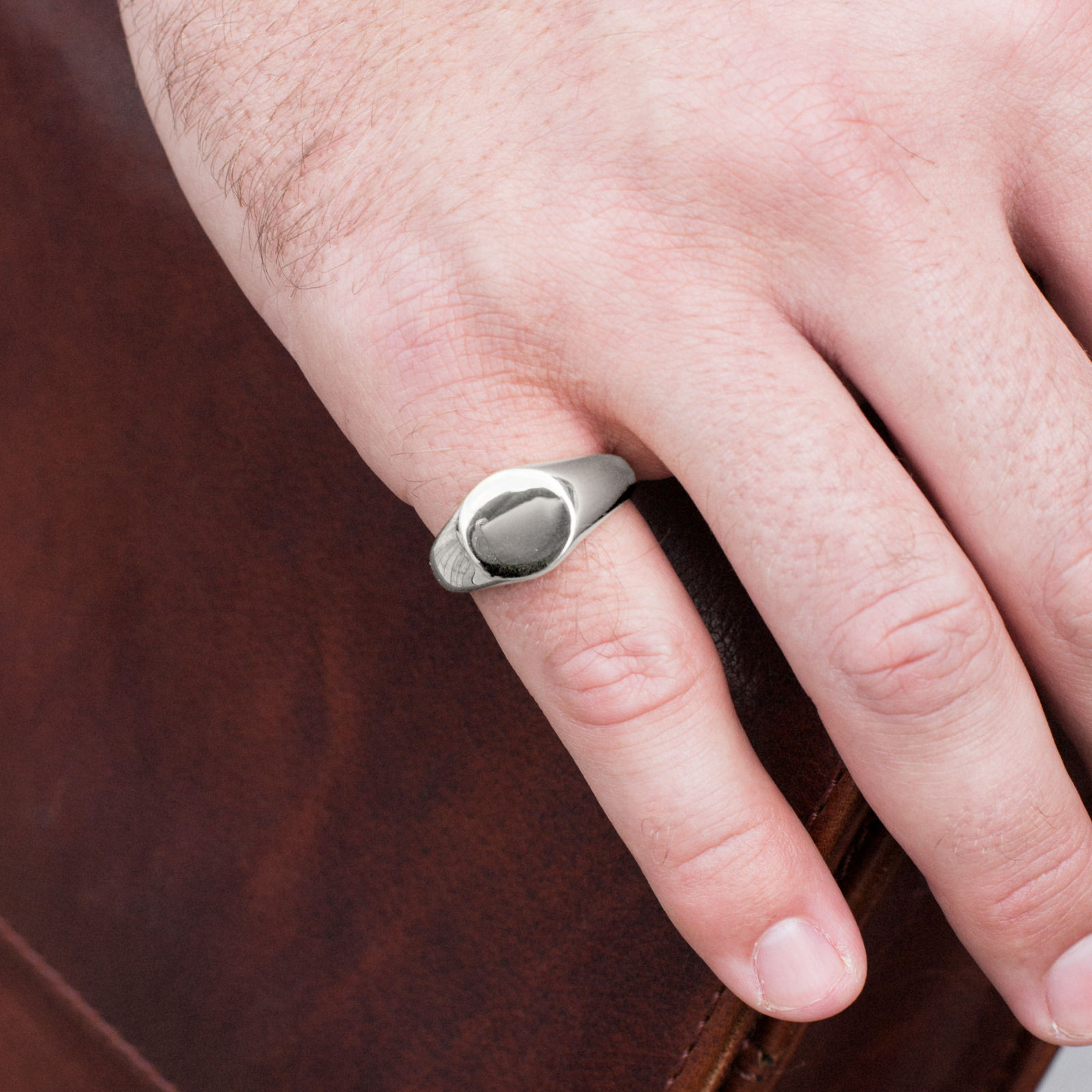 Steel Mason Ring | Lucleon | Free shipping over $75