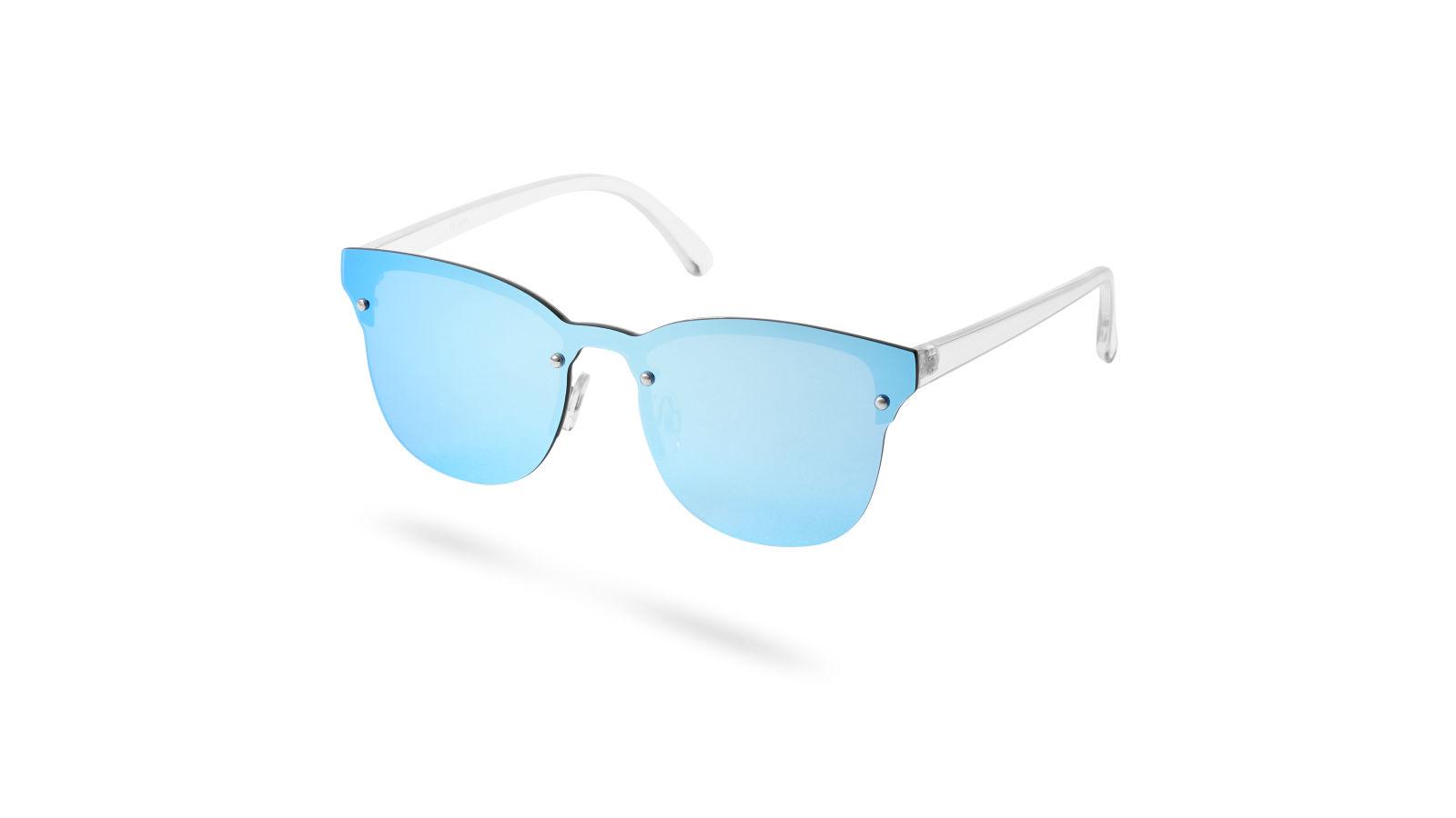 Occhiali da sole con lenti a specchio blu ghiaccio disponibile paul riley - Occhiali lenti blu specchio ...