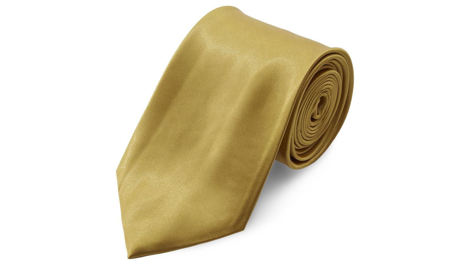 9edd937c34 Fényes aranyszínű nyakkendő - 8 cm | Készleten! | TND Basics