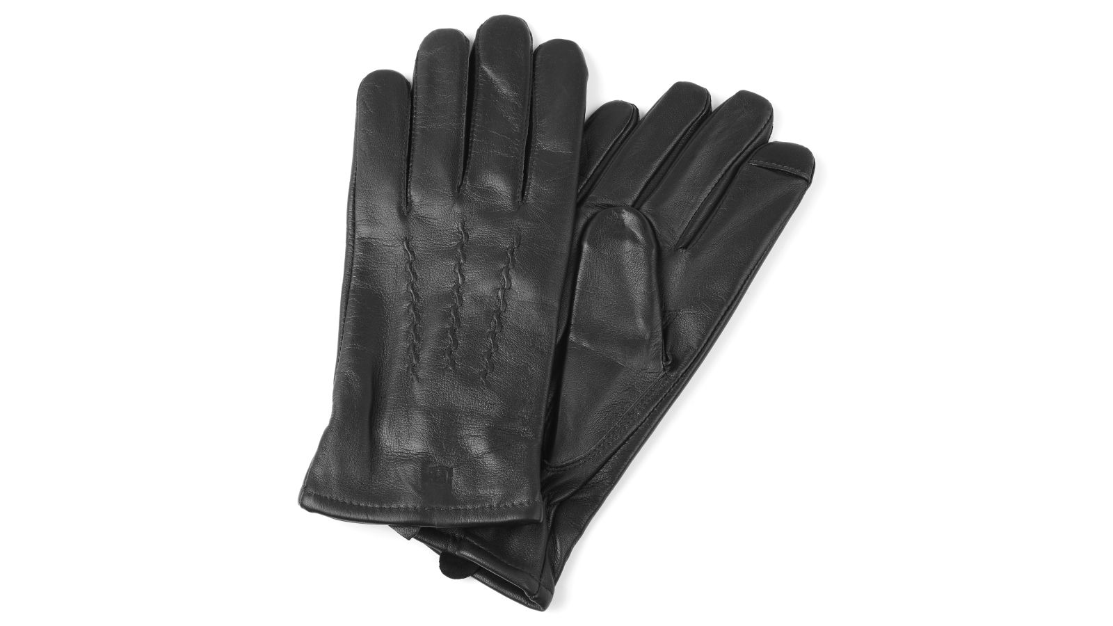 079ff6befe Μαύρα Δερμάτινα Γάντια